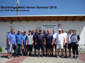 Bezirksliga Mitte Herren Sommer 2016