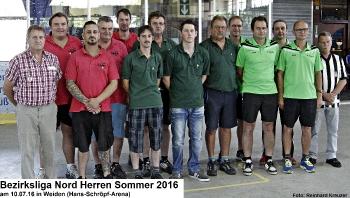 Bezirksliga Nord Herren Sommer 2016