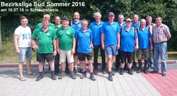 Bezirksliga Sued Herren Sommer 2016